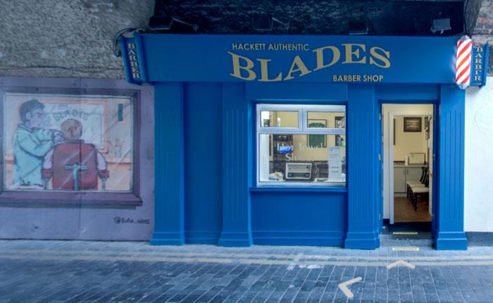 Blades Barber Shop 360 Virtual Tour #3VT
